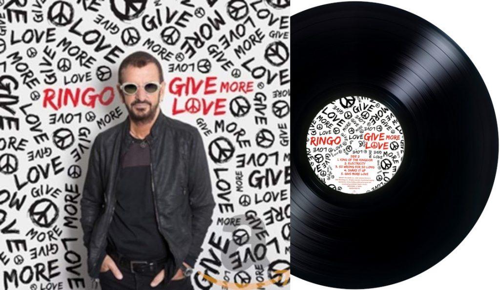 """Ringo Starr – """"Give More Love""""<br>15. Rujna – 2017."""