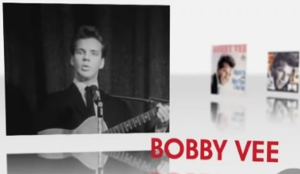 Bobby Vee<br>1943. – 2016.<br>24. Listopada – 2016.