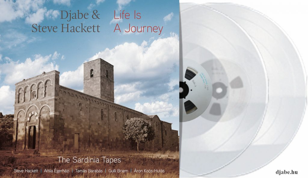 """Djabe and Steve Hackett – """"Life Is A Journey – The Sardinia Tapes""""<br>06. Listopada – 2017."""
